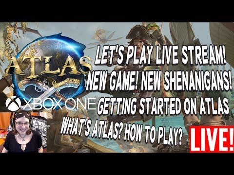 Atlas Game Preview Live Let S Play New Game New Shenanigans What S Atlas How To Start