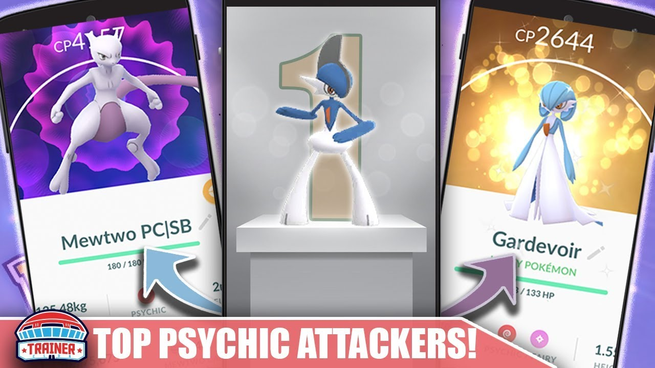BEST OF THE BEST - SHINY GALLADE & GARDEVOIR WORTH POWERING UP - BEST  PSYCHIC ATTACKERS | POKÉMON GO