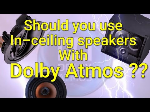 Ep. 6 - Dolby Atmos Home Theater In-ceiling Speakers!  Should You Do It And Should They Be Aimed?