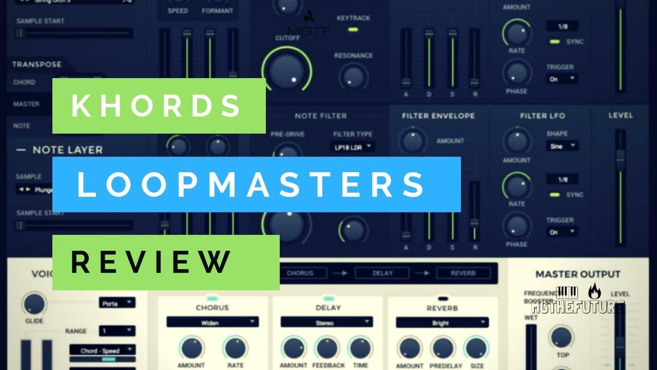 Repeat Live Review   Exploring LoopMasters KHORDS   Sampler
