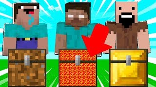 NOOB STEVE VS HEROBRINE VS NOTCH IN MINECRAFT!