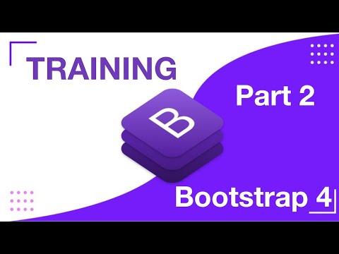 Bootstrap 4 Tutorial - Part 2 | Bootstrap 4 Training | Responsive Web Development thumbnail