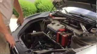 Tesla P90D 12V Lithium battery swap