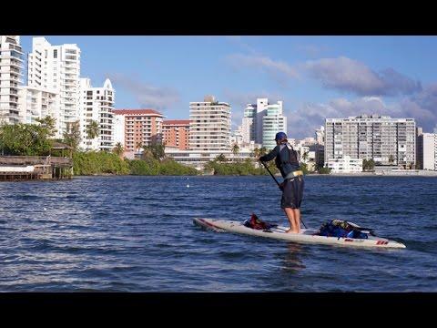 Circumnavigating Puerto Rico by Paddleboard
