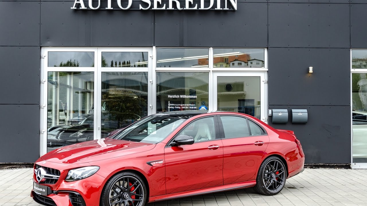 2017 Mercedes-AMG E 63 S 4Matic+ Hyazinth Red Exterior ...