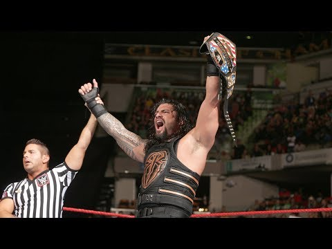 Roman Reigns wins the United States Title...