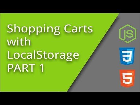 LocalStorage Shopping Cart - PART 1
