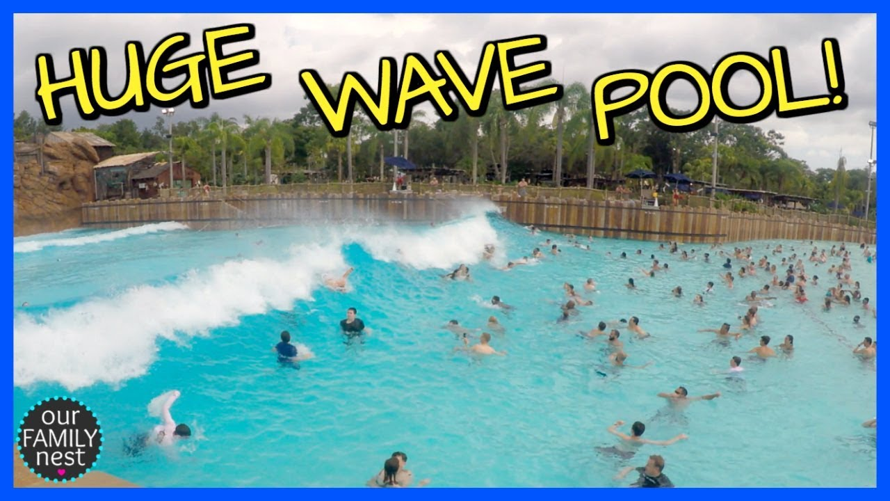 Biggest Waterpark Wave Pool Ever Youtube