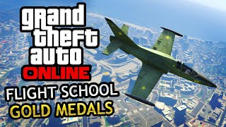 GTA Online - Flight School Missions (Gold Medals)