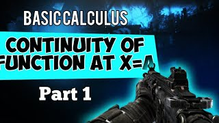 Continuity of function and  Discontinuity of Function | Basic  Calculus - Tagalog Tutorial