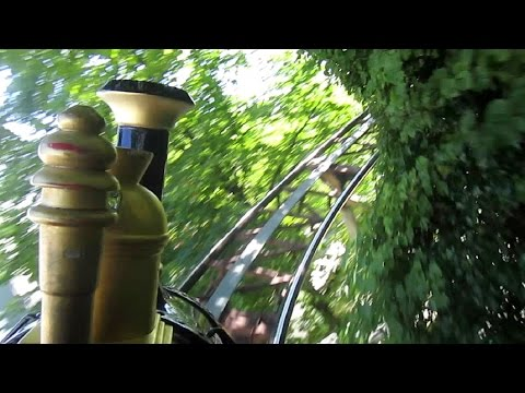 Odinexpressen front seat on-ride HD POV Tivoli Gardens