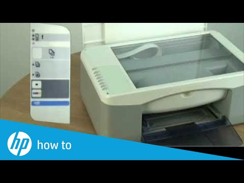 How To Attach The Control Panel Overlay Hp Deskjet F388