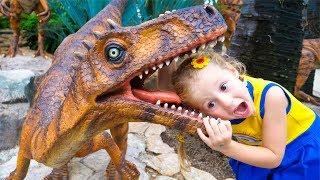 Настя и парк гигантских динозавров