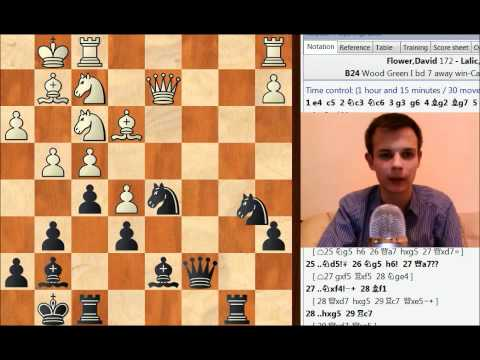Sicilian win v 172 ECF in London Chess League