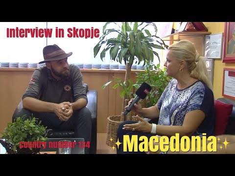 (interview) Македонска Радио Телевизиjа (MPT), Macedonia - August 31st 2017