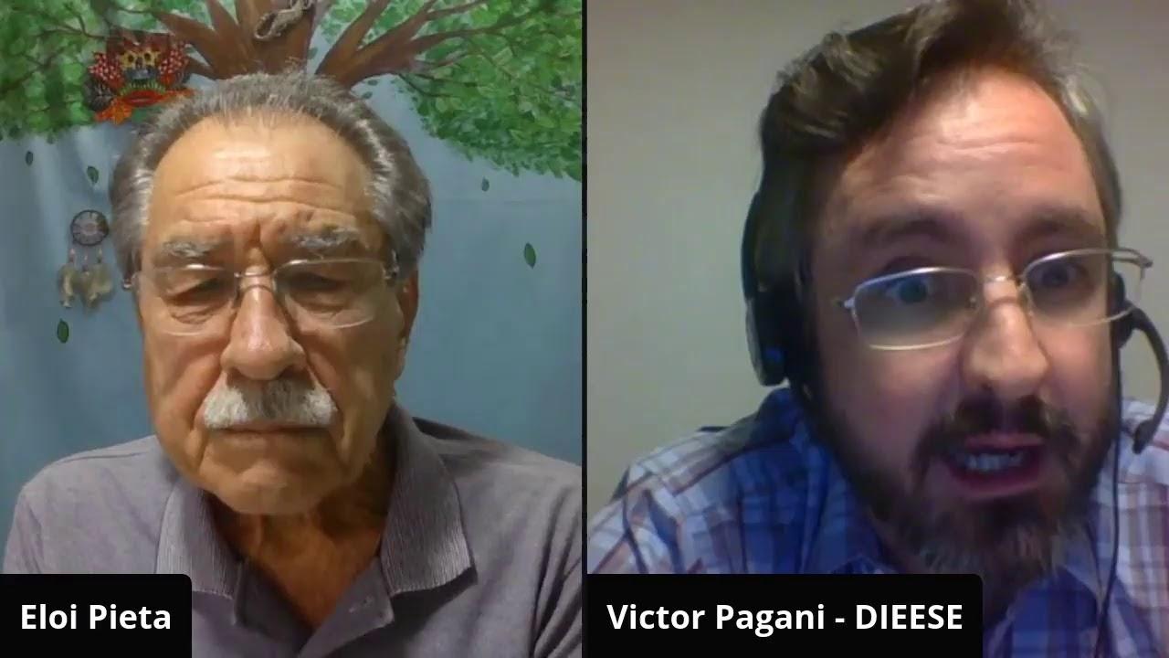FIQUE LIGADO: ELÓI CONVERSA COM VICTOR PAGANI DO DIEESE SOBRE QUEDA NO NÚMERO DE CARTEIRAS ASSINADAS