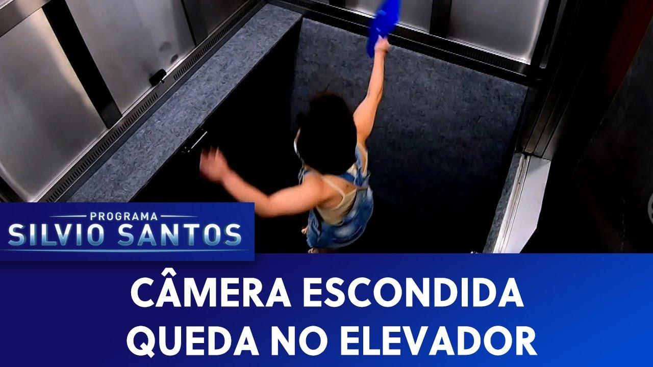 Queda no Elevador - Elevator Falling Down Pranks | Câmeras Escondidas (07/02/21)