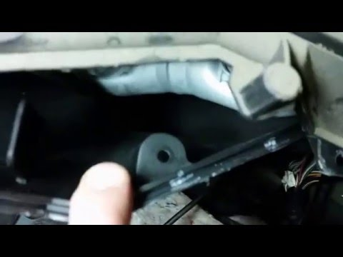 2003 Pontiac Vibe Heater core removal