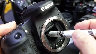You Can Safely Clean Your DSLR Sensor - SensorSweep 2015