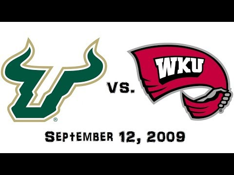 September 12, 2009 - South Florida Bulls vs. Western Kentucky Hilltoppers Full Football Game