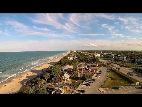 Paradise Beach Park Melbourne Florida Yuneec Q500 Typhoon Video You