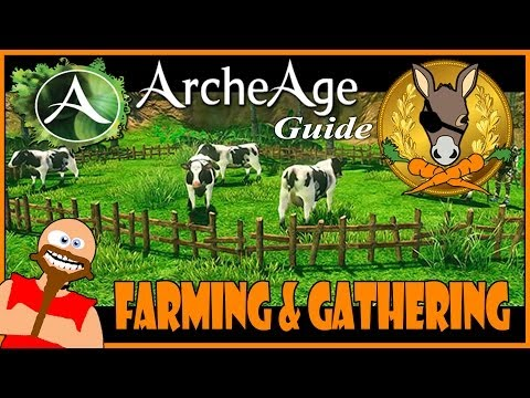 ArcheAge guide - Farming and gathering tutorial