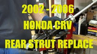 how to replace rear strut dampener shock replacement