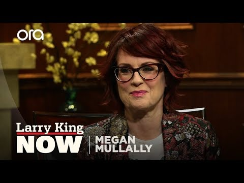 Megan Mullally talks to Larry King about