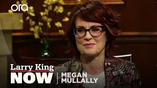 """Megan Mullally talks to Larry King about """"Will & Grace"""", Broadway, & her TV pilot"""