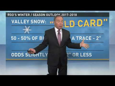 Rod Hill's winter weather forecast for 2017-18
