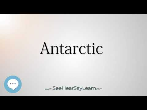 Antarctic    5,000 SAT Test Words and Definitions Series 🔊