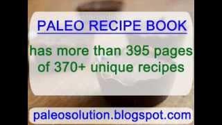 Paleo Cookies - Paleo Recipe Book