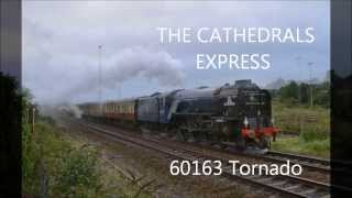 60163 Tornado /THE CATHEDRALS EXPRESS / Exeter / 17/09/13