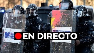 [BARCELONA 21D]: Barricadas de los CDR y cargas de los Mossos en la Rambla