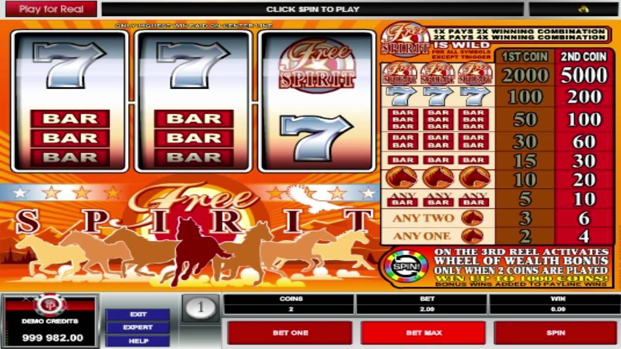 Free Spirit Wheel Of Wealth Free Slots Machine Game Preview By