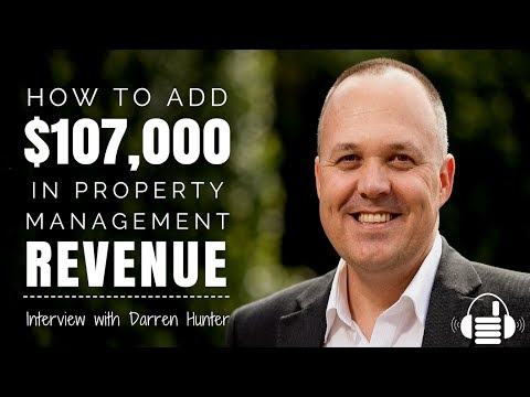 Property Management Fee Maximization with Darren Hunter
