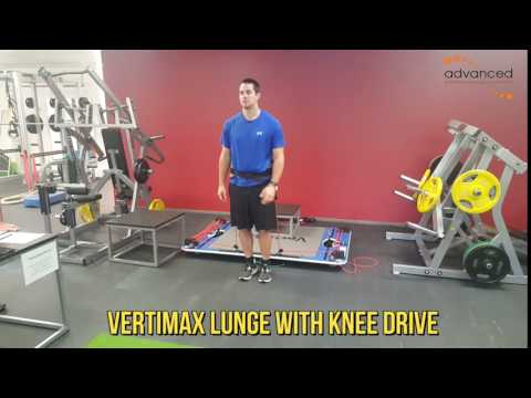 VERTIMAX LUNGE WITH KNEE DRIVE