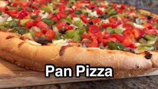 [미국일상] 바삭하고 맛있는 팬 피자 Pan Pizza…
