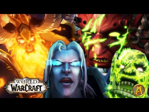 World of Warcraft: ALL Raid Ending Cinematics [Up to BFA 8.3 Visions of N'zoth]