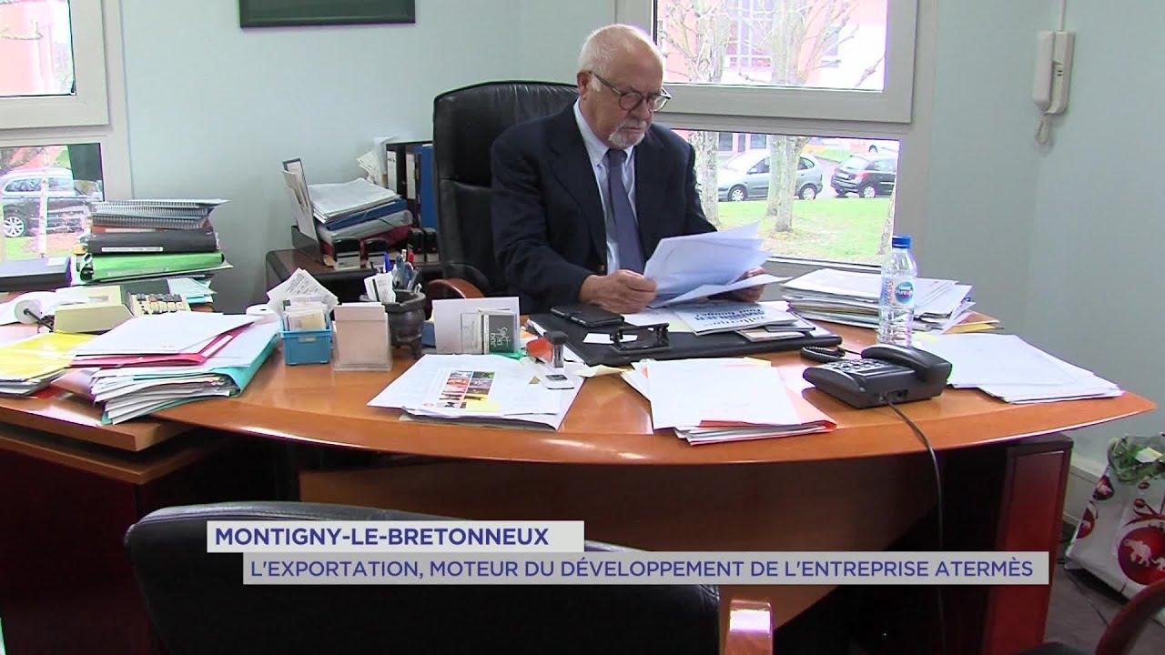 Yvelines | Montigny-le-Bretonneux : L'exportation, moteur du développement de l'entreprise Atermès