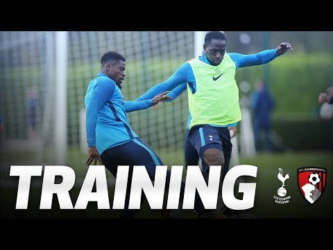 TRAINING | Spurs gear up for AFC Bournemouth