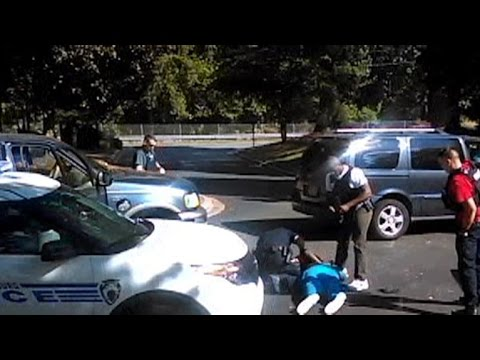 Family releases video of deadly N.C. police shooting