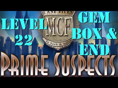 Mystery Case Files Prime Suspects: Level 22 And End