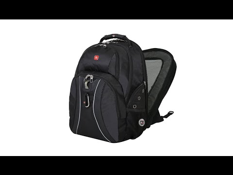 Backpack For Laptop - SwissGear ScanSmart Backpack For 17