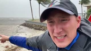 REPORTER UPDATE: Hurricane Elsa Brings Powerful Winds, Heavy Rain To Pine Island