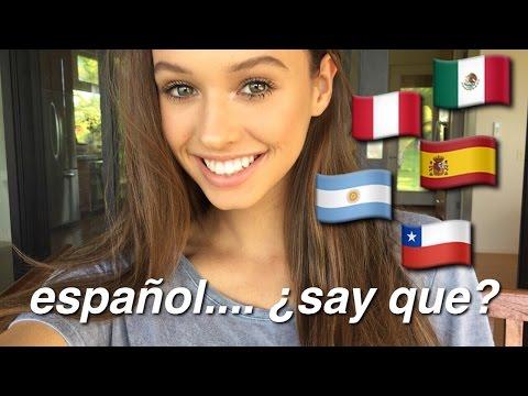 A Video Entirely In Spanish    25 COSAS SOBRE MÍ