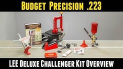 Budget Precision .223: LEE Deluxe Challenger Kit Unboxing and Setup