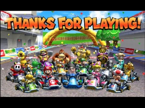 Mario Kart 7 Credits [1080 HD] - YouTube