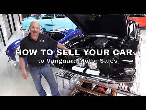 How to sell your Classic Muscle Car to VMS