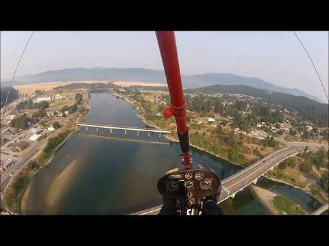 My Movie mp4  FLYING BONNERS FERRY FLY IN  AUGUST  2015